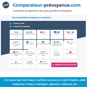 conception du comparateur de prevoyance