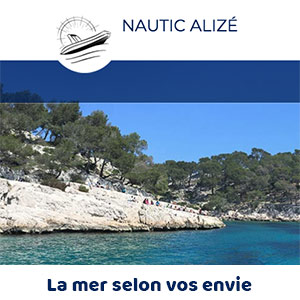 création du site internet nautic alizé